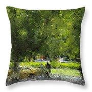 Impressionist Series #1 Throw Pillow