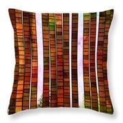 Impressionistic Throw Pillow