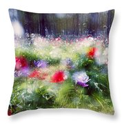 Impressionistic Photography At Meggido 2 Throw Pillow