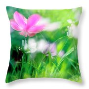 Impressionistic Photography At Meggido 3 Throw Pillow