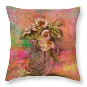 Impressionistic Still Life  Throw Pillow