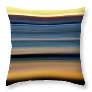Impressionistic Sunset 1393 Throw Pillow