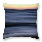 Impressionistic Water 6860a Throw Pillow