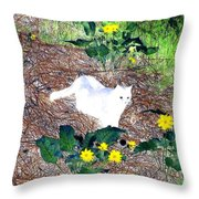 Impressions 4 Throw Pillow