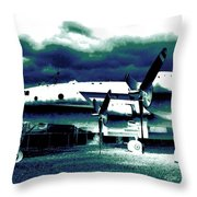 Impressions 7 Throw Pillow