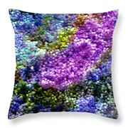 Impressions From The Garden Throw Pillow