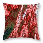 Impressions Of A Burning Forest 12 Throw Pillow