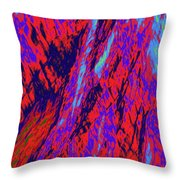 Impressions Of A Burning Forest 16 Throw Pillow