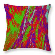 Impressions Of A Burning Forest 17 Throw Pillow