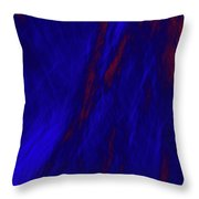 Impressions Of A Burning Forest 2 Throw Pillow