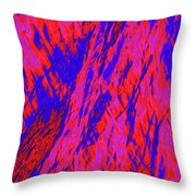Impressions Of A Burning Forest 20 Throw Pillow