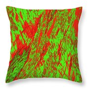 Impressions Of A Burning Forest 22 Throw Pillow