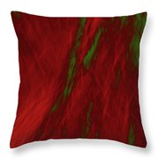Impressions Of A Burning Forest 3 Throw Pillow