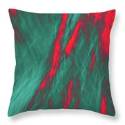Impressions Of A Burning Forest 4 Throw Pillow