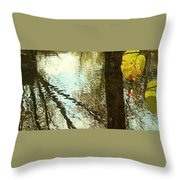 Impressions Of A Ny Fall Throw Pillow