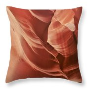 Impressions Of Antelope Canyon 2 Throw Pillow