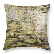 Impressions Of Giverny Throw Pillow