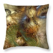 Improvisation For Mahavishnu Throw Pillow