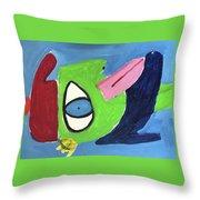 Improvisation Throw Pillow