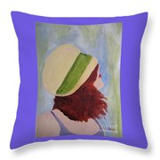 In A Breeze Throw Pillow