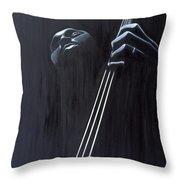 In A Groove Throw Pillow by Kaaria Mucherera