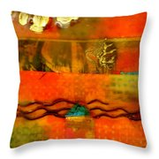 In A Land Far Away Throw Pillow