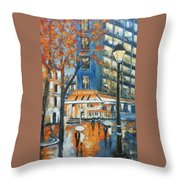 In A Night Throw Pillow
