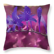 In A Pink World Throw Pillow