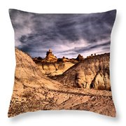 In A Time Gone By Throw Pillow