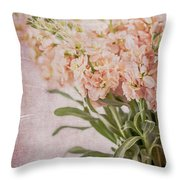 In A Vase #2 Throw Pillow