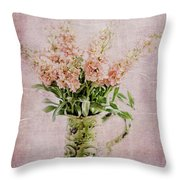 In A Vase Throw Pillow