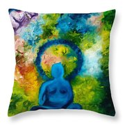 In Abode Of Soul  Throw Pillow