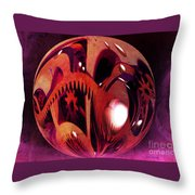 In All Directions Throw Pillow