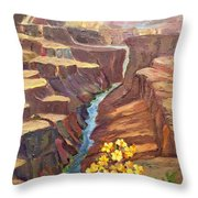 In All God's Glory Throw Pillow