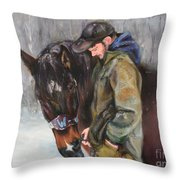 In All Weather Throw Pillow