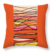 In And Out And Back In Love Throw Pillow