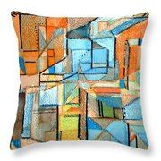 In And Out Throw Pillow