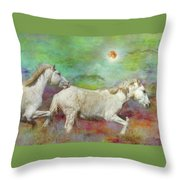 In Another Time Another Place... Throw Pillow