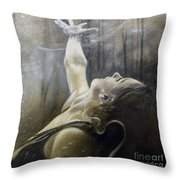 In Awe Throw Pillow