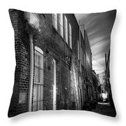 In Back Throw Pillow