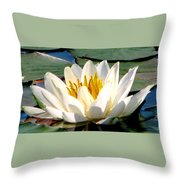 In Bliss Throw Pillow