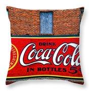 In Bottles Throw Pillow