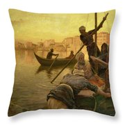 In Cairo Throw Pillow