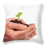 In Care Throw Pillow