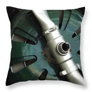 In Color Abstract 13 Throw Pillow