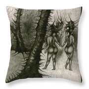In Concealment Throw Pillow