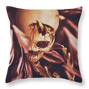 In Contrasts Of Soul Growth Throw Pillow