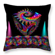 In Different Colours Thrown -7- Throw Pillow