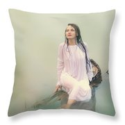In Dreamy World Throw Pillow