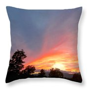 In Emptiness... Throw Pillow